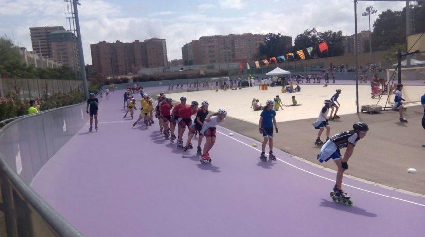 Composport Skating sobre asfalto en el Campeonato de España
