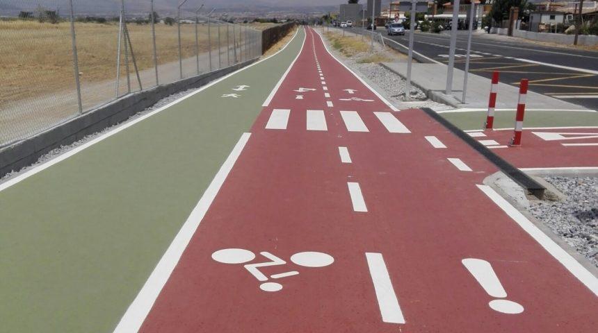 Nuevo carril bici de COMPOSAN en la provincia de Granada