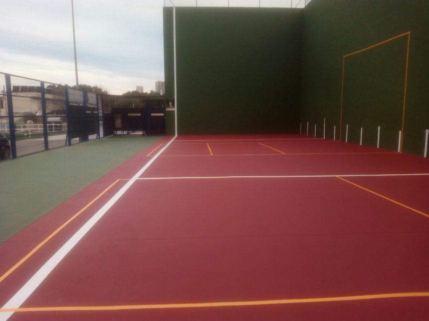 El Polideportivo Sardón de los Frailes ha aplicado en su pista polideportiva el sistema Sport plus sobre hormigón.