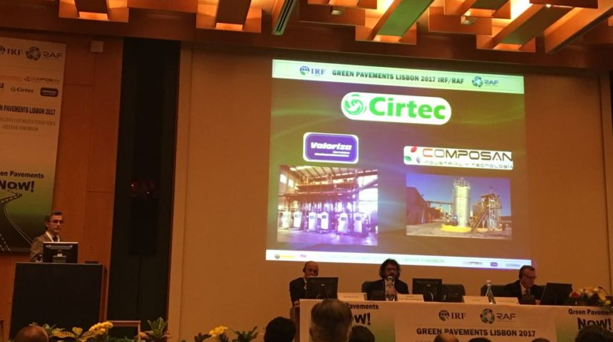 Cirtec, Composan Industrial y Tecnología y Valoriza participan en las jornadas de Lisboa los días 24 y 25 de mayo.