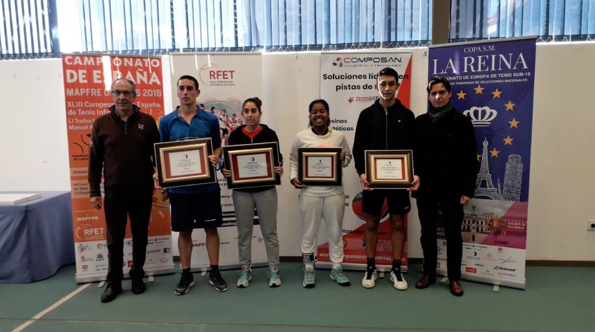 Concluye el Máster Nacional del XI Circuito de Promoción Juvenil de la FTCL «Máster Tennislife»