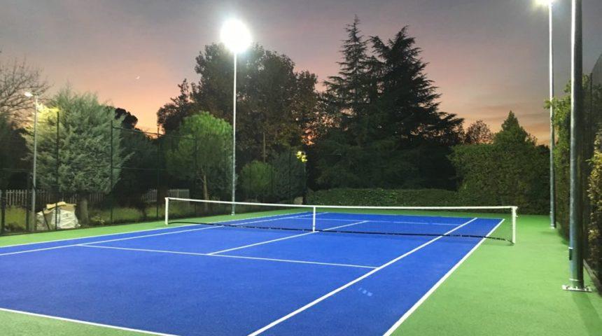Pista Tenis Sistema Compoquick