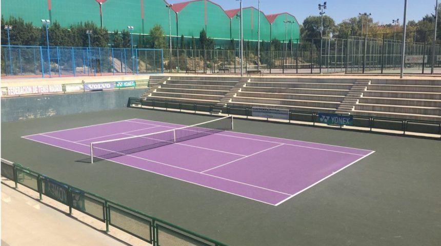 TENNISLIFE, de COMPOSAN, renueva todas las pistas de la Federación de Tenis de Madrid