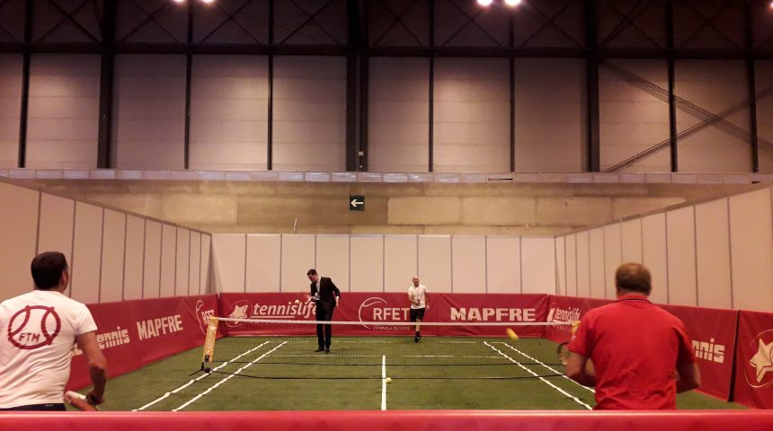 Tennislife junto con la RFET en Sport is Party