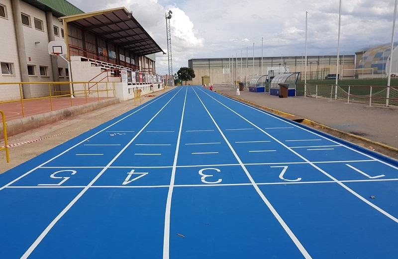 COMPOSAN renueva la pista de atletismo de Benifayó (Valencia)