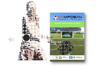 Césped Sintético Compograss P 12/49 producto homologado por la Federación Española de Pádel
