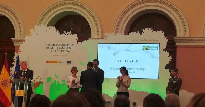 «COMPOSAN Industrial y Tecnología» logra un accésit del Premio Europeo de Medio Ambiente, con su proyecto CIRTEC