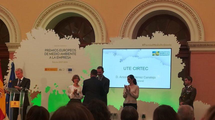 """""""COMPOSAN Industrial y Tecnología"""" logra un accésit del Premio Europeo de Medio Ambiente, con su proyecto CIRTEC"""